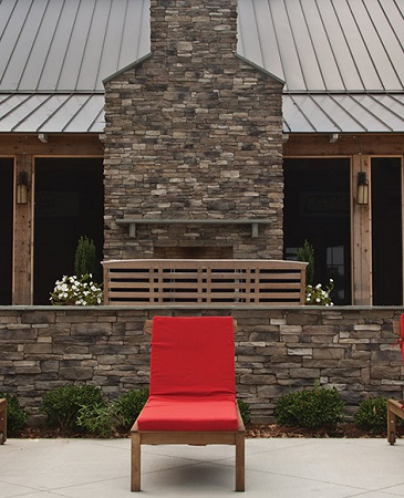 Cultured Stone has the qualities of nature with modern craftmanship.