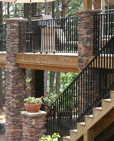 Cultured Stone is easy to install and a fraction of the cost of natural stone.